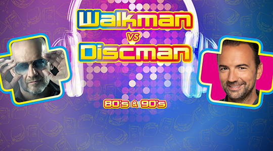 Walkman vs Discman